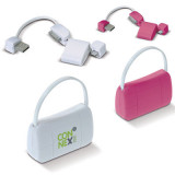 Cadeau d'affaire Connecteur USB Lady Bag