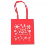 Cadeau d'affaire Sac shopping Happy Christmas