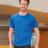 Cadeau d'affaire T-shirt Sporty (homme) 140 g/m²