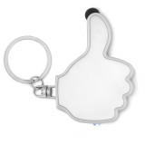 Cadeau d'affaire Porte-clefs lampe Thumbs-up