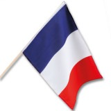 Cadeau d'affaire Drapeau à main France