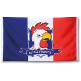 Relatiegeschenk Vlag French Fan