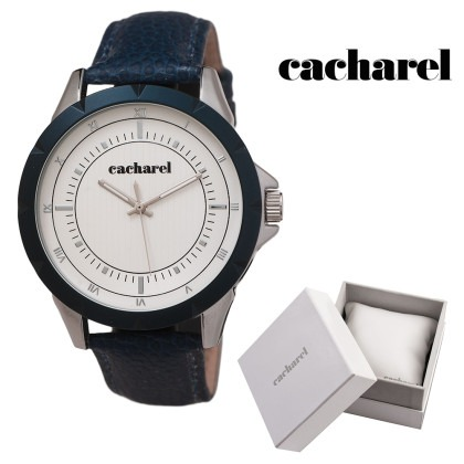 Gratuit Montre London bleu Cacharel