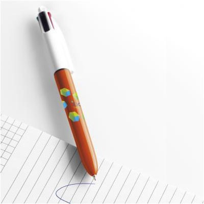 Balpen BIC 4-Colour Fine